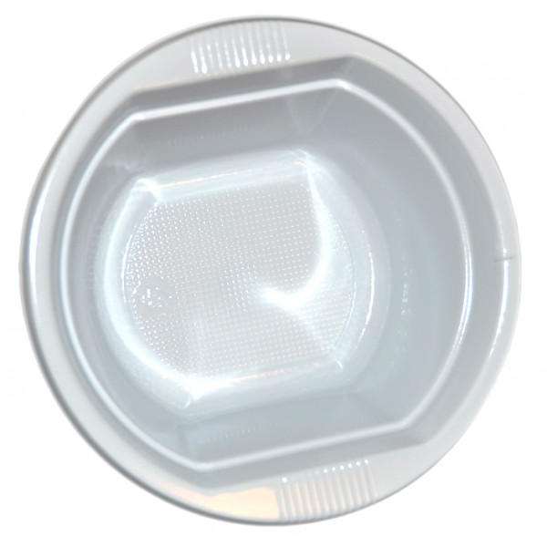 ... White plastic bowls 250 cc - package of 100 plates ...  sc 1 st  Disposables & Buy White plastic bowls 250 cc - package of 100 plates ...