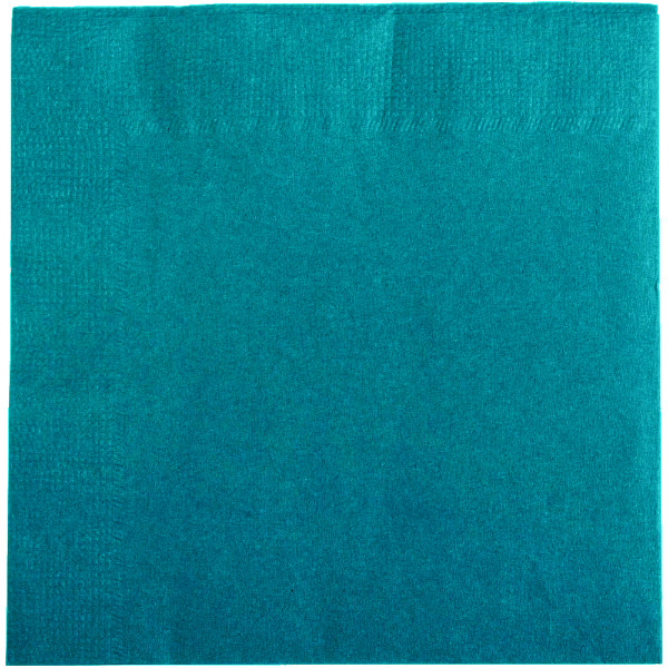 2-Ply Cyan Napkins (33 x 33 cm) - pack of 100 napkins