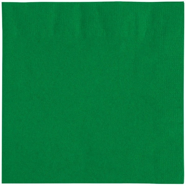 Green napkins, 2 ply, 33 cm - package of 100 napkins