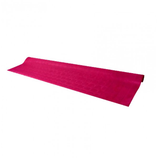 Pink tablecloth, 7 m - paper table cover roll