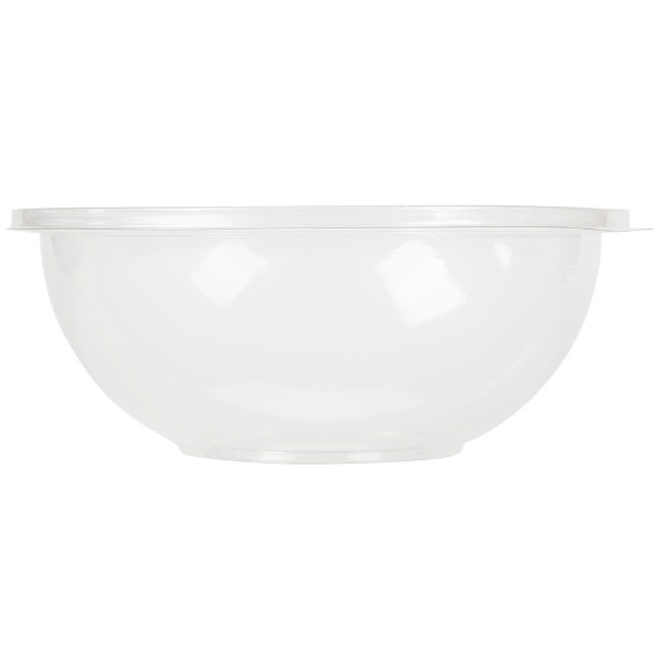 Plastic round salad bowls, 1500 ml - package of 1 salad bowl