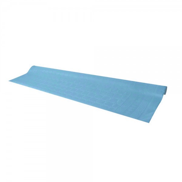 Blue tablecloth, 7 m - paper table cover roll