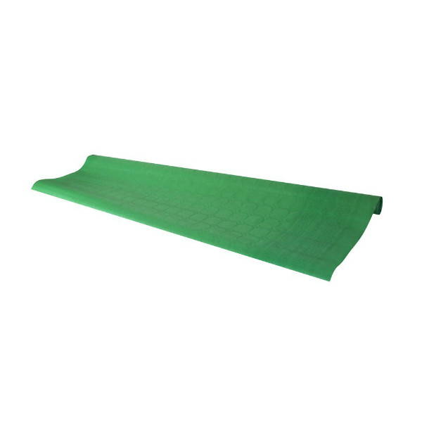 Green tablecloth, 7 m - paper table cover roll