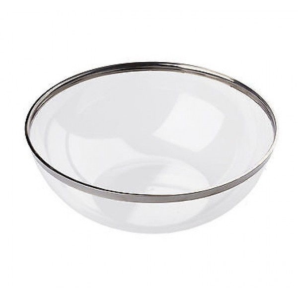Large plastic round salad bowls, 3500 ml - package of 1 salad bowl