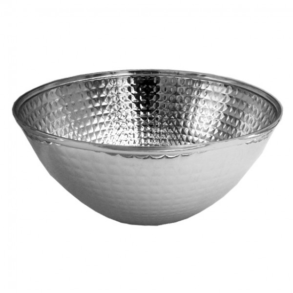 Large Round Plastic Salad Bowl, 2800 ml