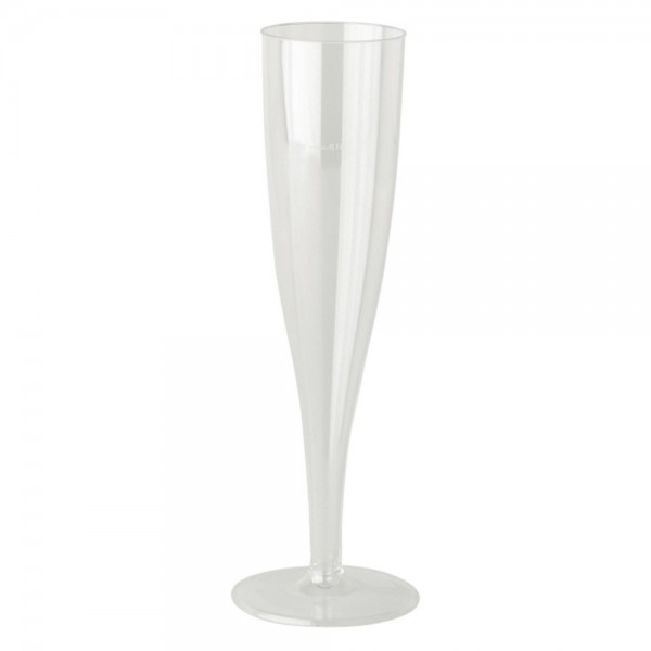 Rigid plastic party glasses - package of 6 cups