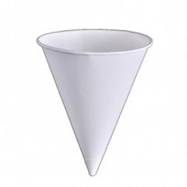 Paper cone cups, 4,5 oz - package of 200 cups