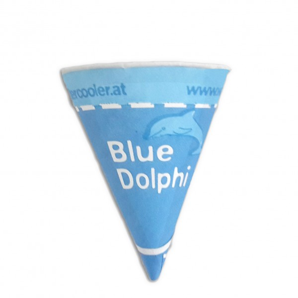 Printed paper cone cups, 4 oz - pack of 200 cups