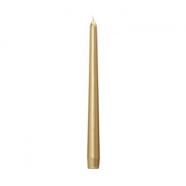 Gold Taper Candles