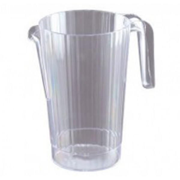 Large plastic jugs, 1.4 l - package of 5 carafes