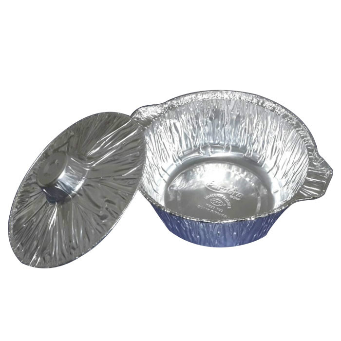 Disposable aluminum pots