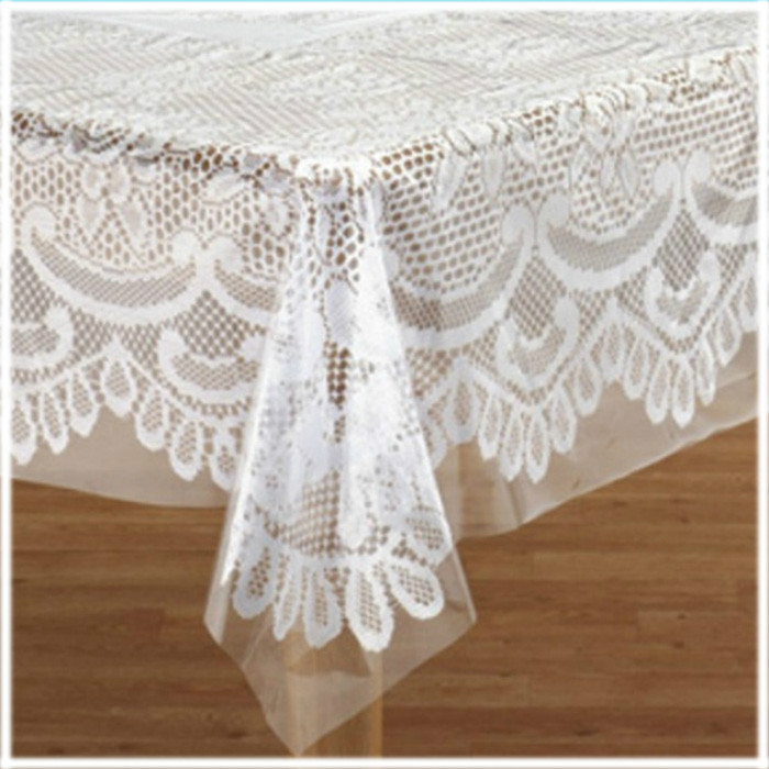 Disposable plastic tablecloths