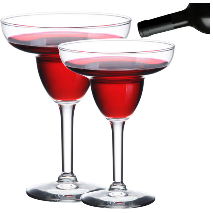 Wine cups, flutes and cocktail glasses